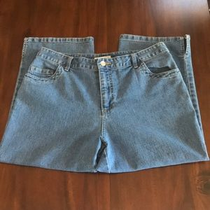 Cherokee | Blue jeans capris